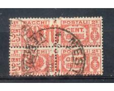 1927 - LOTTO/REGPP26UC - REGNO - 25c. PACCHI POSTALI - USATI
