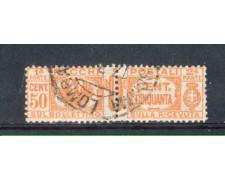 1927 - LOTTO/REGPP28U - REGNO - 50c. PACCHI POSTALI - USATO