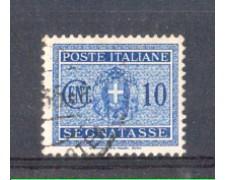 1934 - LOTTO/REGT35U - REGNO - 10c. SEGNATASSE - USATO