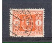 1934 - LOTTO/REGT42U - REGNO - 1 LIRA SEGNATASSE - USATO