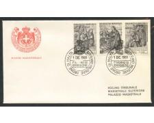 1969 - SOVRANO MILITARE DI MALTA - NATALE -  BUSTA FDC - LOTTO/30397