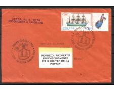 1981 - REPUBBLICA - VI° CENTENARIO SANTA RITA - BUSTA PER CANTU' - LOTTO/31821