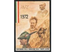 1972 - ITALIA - CASSANO D'ADDA (MI) - CENTENARIO TRUPPE ALPINE - CARTOLINA - LOTTO/31215