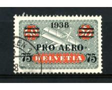 1938 - SVIZZERA - PRO AEREO - USATO - LOTTO/SVIA26U