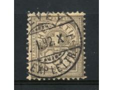 1882 - SVIZZERA - 3 cent. GRIGIO - USATO - LOTTO/9905