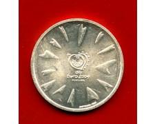 2004 - PORTOGALLO - 8 EURO CALCIO ARGENTO - LOTTO/M31834