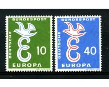 1958 - GERMANIA FEDERALE - EUROPA 2v - LINGUELLATI - LOTTO/30832