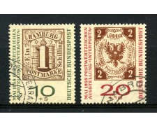 1959 - GERMANIA FEDERALE - INTERPOSTA 2v. - USATI - LOTTO/30841U