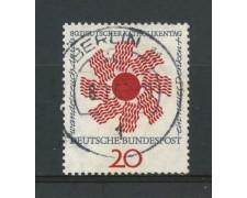 1964 - GERMANIA FEDERALE - 20p. GIORNATA CATTOLICA - USATO - LOTTO/30885U