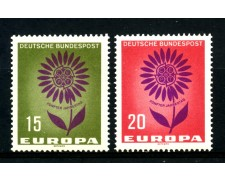 1964 - GERMANIA FEDERALE - EUROPA 2v - NUOVI - LOTTO/30887