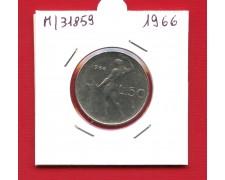 1966 - REPUBBLICA - 50 LIRE VULCANO I° TIPO - LOTTO/M318589