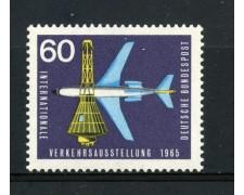 1965 - GERMANIA FEDERALE - 60p. ESPOSIZIONE TRASPORTI - NUOVO - LOTTO/30893