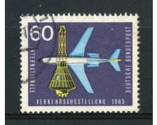 1965 - GERMANIA FEDERALE - 60p. ESPOSIZIONE TRASPORTI - USATO - LOTTO/30893U