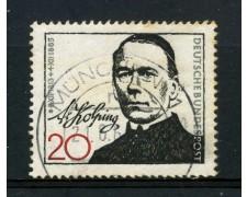 1965 - GERMANIA FEDERALE - 20p. ADOLPH KOLING - USATO - LOTTO/30894U