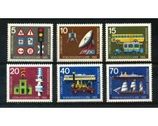 1965 - GERMANIA FEDERALE - ESPOSIZIONE DEI TRASPORTI 6v. - NUOVI - LOTTO/30896
