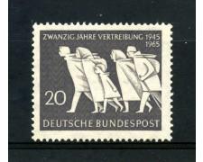 1965 - GERMANIA FEDERALE - 20p. ESPULSIONE DAI TERRITORI ORIENTALI - NUOVO - LOTTO/30897