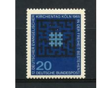 1965 - GERMANIA FEDERALE - 20p. CHIESA EVANGELICA - NUOVO - LOTTO/30898