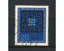 1965 - GERMANIA FEDERALE - 20p. CHIESA EVANGELICA - USATO - LOTTO/30898U