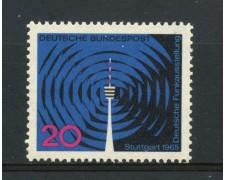 1965 - GERMANIA FEDERALE - 20p. ESPOSIZIONE RADIOTELEVISIONE - NUOVO - LOTTO/30899