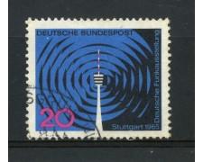 1965 - GERMANIA FEDERALE - 20p. ESPOSIZIONE RADIOTELEVISIONE - USATO - LOTTO/30899U