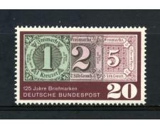 1965 - GERMANIA FEDERALE  - 20p. ANNIVERSARIO DEL FRANCOBOLLO - NUOVO - LOTTO/30900