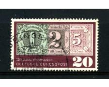 1965 - GERMANIA FEDERALE - 20p. ANNIVERSARIO DEL FRANCOBOLLO - USATO - LOTTO/30900U