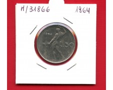 1964 - REPUBBLICA - 50 LIRE VULCANO I° TIPO - LOTTO/M31866