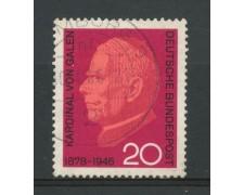 1966 - GERMANIA FEDERALE - 20p. CARDINALE VON GALEN - USATO - LOTTO/30903U