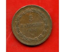 1851B - STATO PONTIFICIO - 5 BAIOCCHI PIO IX° - LOTTO/M30907
