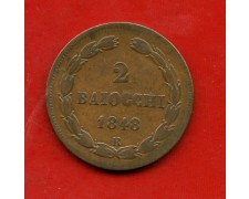 1849R - STATO PONTIFICIO - 2 BAIOCCHI PIO IX° - LOTTO/M30908