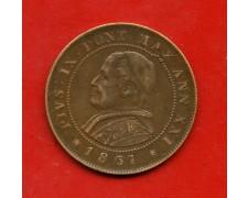 1867 - STATO PONTIFICIO - PIO IX° 2 SOLDI - LOTTO/M30911