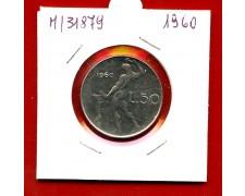1960 - REPUBBLICA - 50 LIRE VULCANO I° TIPO - LOTTO/M31879