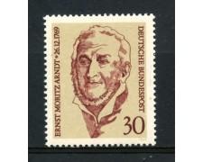 1969 - GERMANIA FEDERALE - 30p. ERNST MORITZ ARNDT - NUOVO - LOTTO/30974