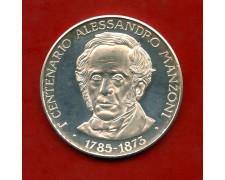 ITALIA - LOTTO/11749A - MEDAGLIA ARGENTO I° CENTENARIO ALESSANDRO MANZONI
