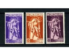 1930 - REGNO - FRANCESCO FERRUCCI POSTA AEREA 3v. - LINGUELLATI - LOTTO/14340
