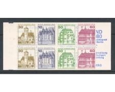 1979/80 - BERLINO - LIBRETTO CASTELLI E FORTEZZE  - NUOVI - LOTTO/30195
