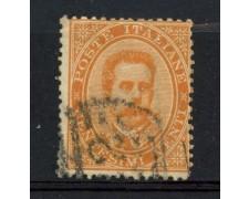 1879 - REGNO - 20 cent. ARANCIO UMBERTO I° - USATO - LOTTO/26425