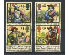 1992 - GRAN BRETAGNA - GUERRA CIVILE 4v. - NUOVI - LOTTO/766