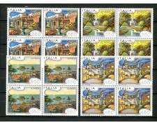 1986 - LOTTO/6850Q - REPUBBLICA - TURISTICA 13° SERIE - 4v. QUARTINE NUOVI