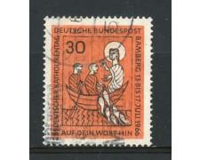 1966 - GERMANIA FEDERALE - 81° GIORNATA CATTOLICA - USATO - LOTTO/30926U