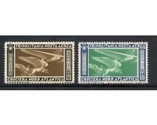 1933 - TRIPOLITANIA - CROCIERA BALBO 2v. - LINGUELLATI - LOTTO/10112A