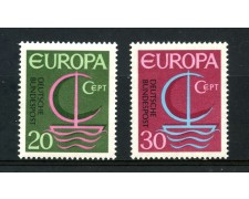 1966 - GERMANIA FEDERALE - EUROPA 2v. - NUOVI - LOTTO/30928