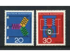 1966 - GERMANIA FEDERALE - CORRENTE E DINAMO 2v. - NUOVI - LOTTO/30929