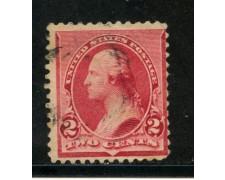 1890/93 - STATI UNITI - 2 cent. CARMINIO - USATO - LOTTO/29001