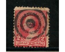 1890/93 - STATI UNITI - 2 cent. CARMINIO - USATO - LOTTO/29001B