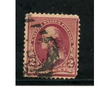 1890/93 - STATI UNITI - 2 cent. LACCA - USATO - LOTTO/29002