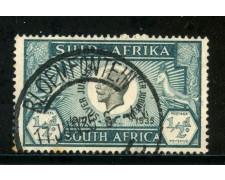 1935 - SUD AFRICA INGLESE - 1/2p. VERDE GIORGIO V° - USATO - LOTTO/29107