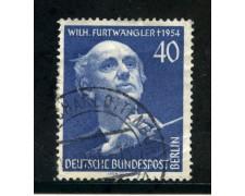 1955 - BERLINO - 40p. FESTIVAL DELLA MUSICA - USATO - LOTTO/29218