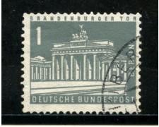 1956/63 - BERLINO - 1p. BRANDEBURGO - USATO - LOTTO/29221