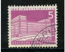 1956/63 - BERLINO - 5p. PALAZZO POSTE - USATO - LOTTO/29222